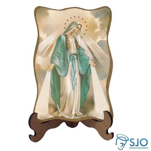 Porta-Retrato Nossa Senhora das Graças - Modelo 2 | SJO Artigos Religiosos