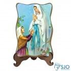Porta-Retrato Nossa Senhora de Lourdes - Modelo 1 | SJO Artigos Religiosos