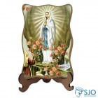 Porta-Retrato Nossa Senhora de Lourdes - Modelo 2 | SJO Artigos Religiosos