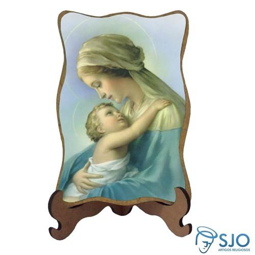 Porta-Retrato Nossa Senhora do Abraço   SJO Artigos Religiosos