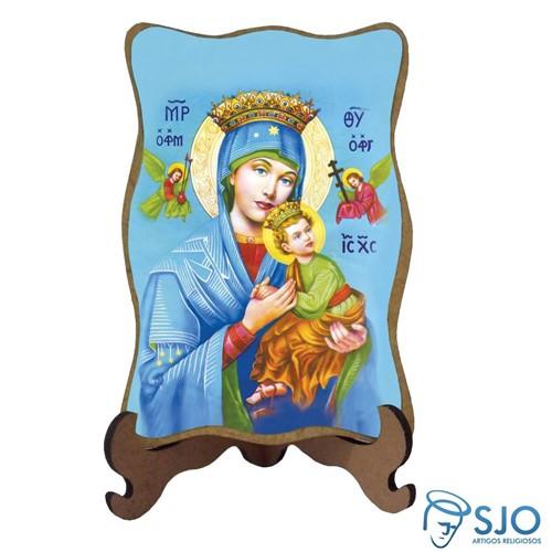Porta-Retrato Nossa Senhora do Perpétuo Socorro - Modelo 1   SJO Artigos Religiosos