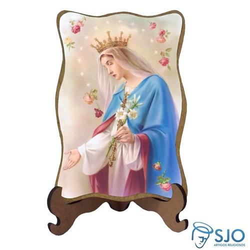 Porta-Retrato Nossa Senhora do Rosário | SJO Artigos Religiosos