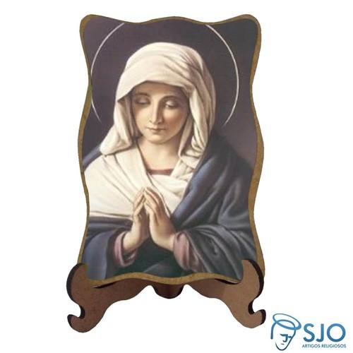 Porta-Retrato Nossa Senhora do Silêncio - Mod 2 | SJO Artigos Religiosos