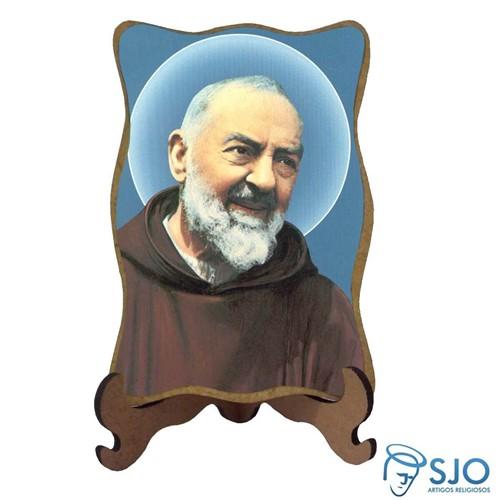Porta-Retrato Padre Pio - Modelo 1 | SJO Artigos Religiosos