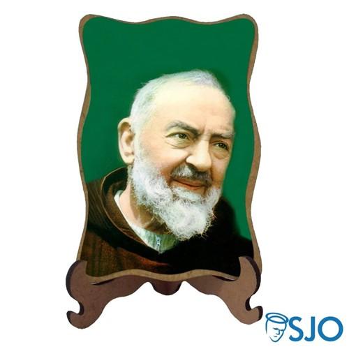 Porta-Retrato Padre Pio - Modelo 2 | SJO Artigos Religiosos