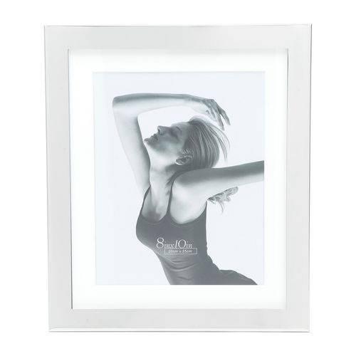Porta Retrato Prata para 1 Foto 15x20cm Lamel Prestige