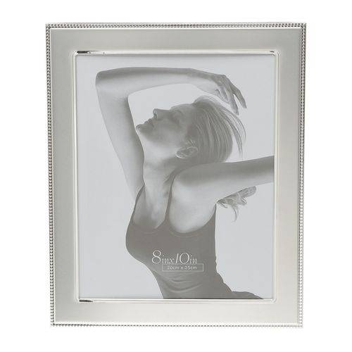 Porta Retrato Prata para 1 Foto 13x18cm Mercedes Prestige