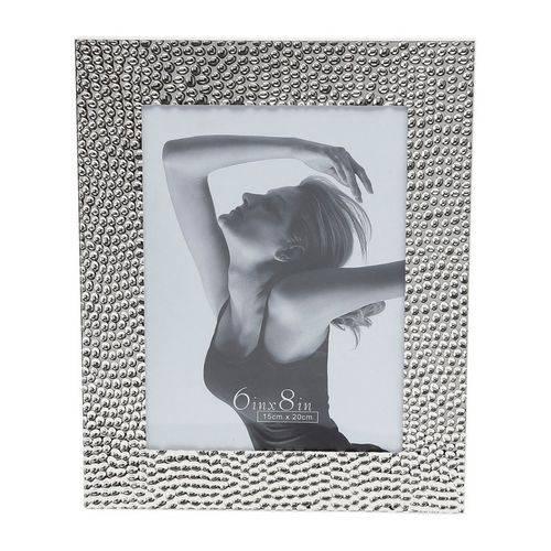 Porta Retrato Prata para 1 Foto 20x25cm Tadeu Prestige