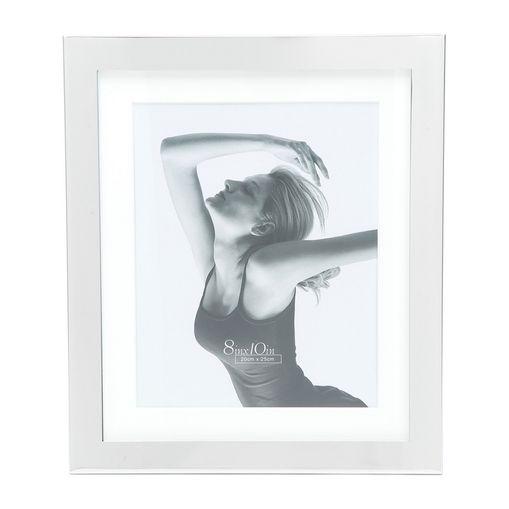 Porta Retrato Prata para 1 Foto 13x18cm Lamel Prestige