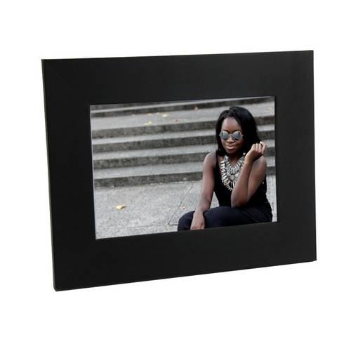 Porta Retrato Preto de Madeira 10x15 - Pr16-8