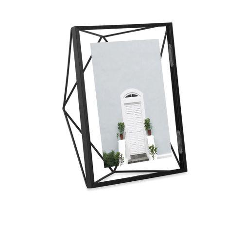 Porta Retrato Preto Prisma 20x25cm