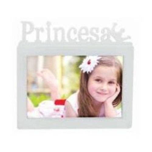 Porta-Retrato Príncesa 10x15cm Branco
