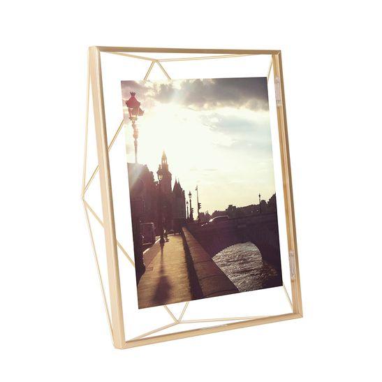 Porta Retrato Prisma 20X25 Cm Dourado Umbra