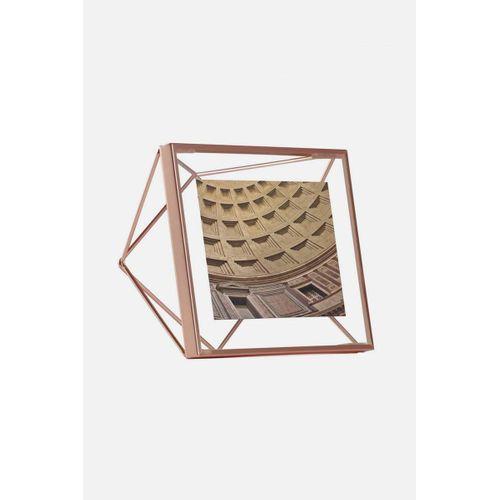 Porta Retrato Prisma 10x10cm Cobre