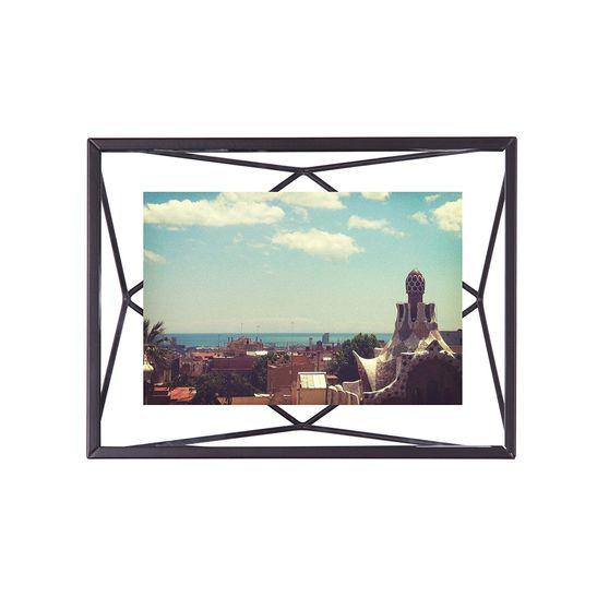 Porta Retrato Prisma 10X15 Cm Preto Umbra