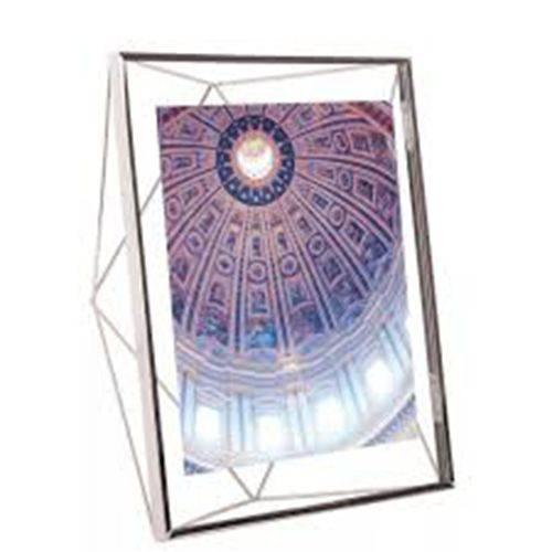 Porta Retrato Prisma 10x15cm Cromado - Umbra