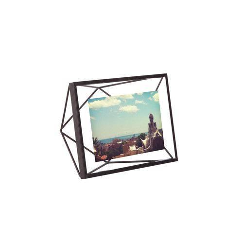 Porta Retrato Prisma 10x15cm Preto 313016-040 Umbra