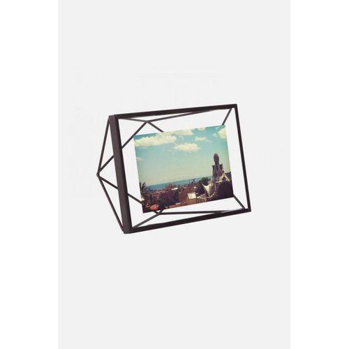 Porta Retrato Prisma Preto 10x15cm