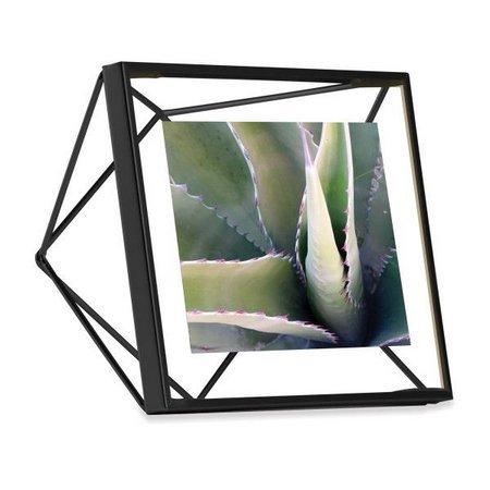 Porta Retrato Prisma Preto 13x18 Cm - Occa Moderna