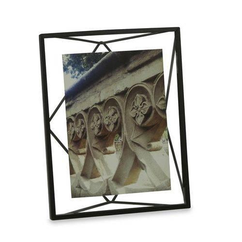 Porta Retrato Prisma Umbra 12,7X17,8 Preto