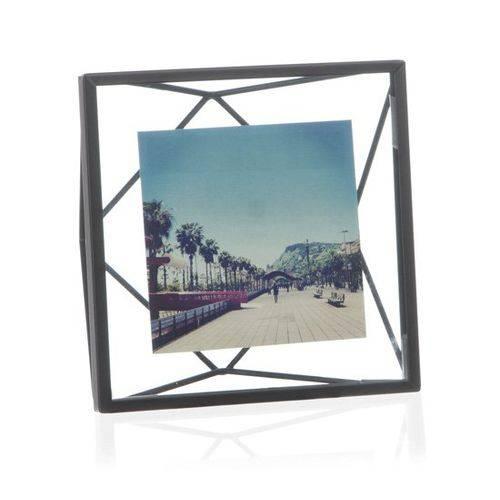 Porta Retrato Prisma Umbra 10,2X10,2 Preto