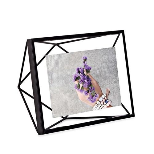 Porta-retrato Prisma Umbra Preto - 10 X 15 Cm