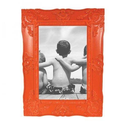 Porta-retrato Provençal Laranja 10x15cm