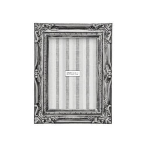 Porta Retrato Retangular Mart Collect 13x18 Cinza