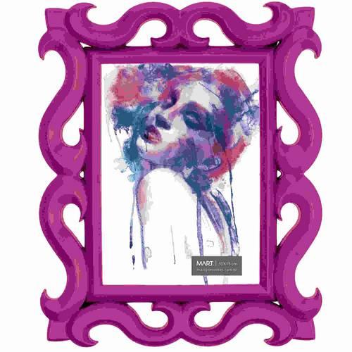 Porta Retrato Rosa 10x15