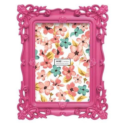 Porta Retrato Rosa 10x15cm 4997 Mart