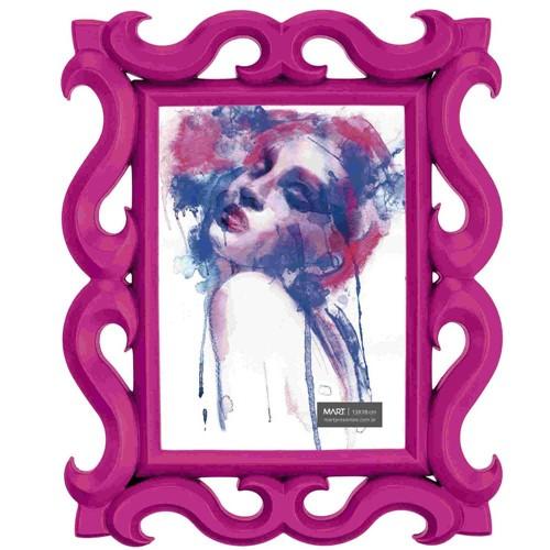 Porta Retrato Rosa 13x18
