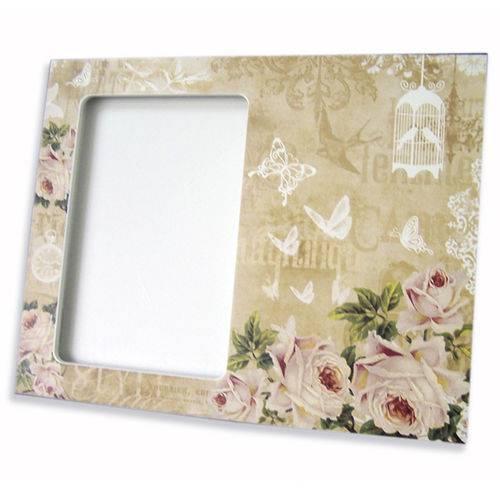 Porta Retrato Rosas 10 X 15 Cm