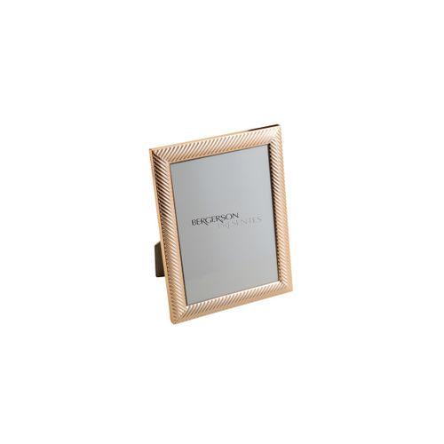 Porta Retrato Rose Gold Thick Line 20x25cm