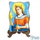 Porta-Retrato Santa Bárbara - Modelo 1 | SJO Artigos Religiosos