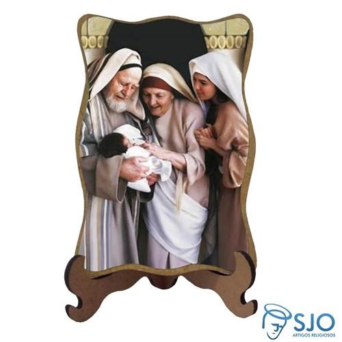 Porta-Retrato Santa Isabel e Zacarias | SJO Artigos Religiosos