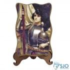 Porta-Retrato Santa Joana D'Arc | SJO Artigos Religiosos