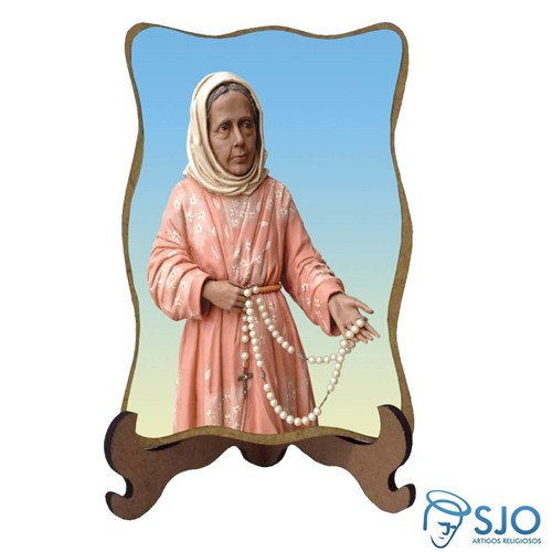 Porta-Retrato Santa Nhá Chica | SJO Artigos Religiosos