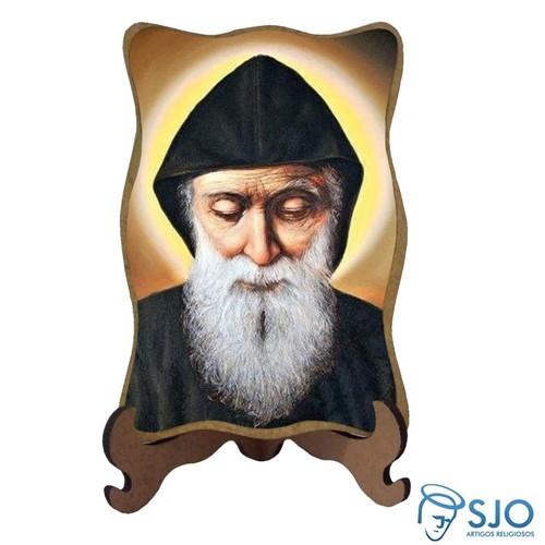 Porta-Retrato São Charbel - Modelo 1 | SJO Artigos Religiosos