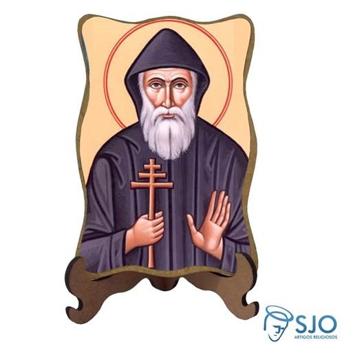 Porta-Retrato São Charbel - Modelo 2 | SJO Artigos Religiosos