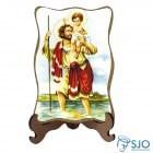 Porta-Retrato São Cristóvão | SJO Artigos Religiosos