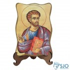 Porta-Retrato São Lucas - Modelo 1   SJO Artigos Religiosos