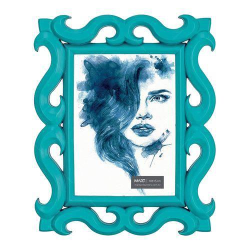 Porta-Retrato Scorpion - Foto 10x15 Cm - Azul