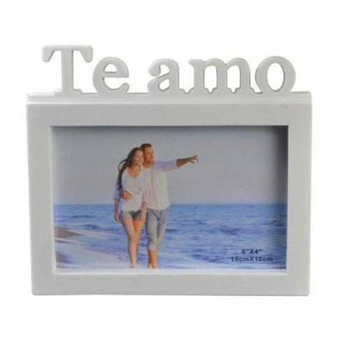 Porta Retrato TE AMO 15X20 - Branco