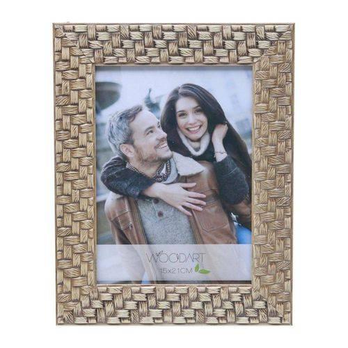 Porta Retrato Trançado 10cmx15cm Rojemac Bege