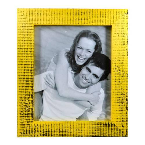 Porta Retrato Trancoso Amarelo 20x25 Cm