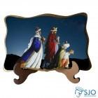 Porta Retrato Três Reis Magos