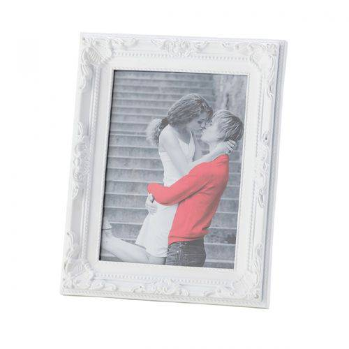 Porta Retrato Vintage Branco 20 X 25 Cm Lyor 3350