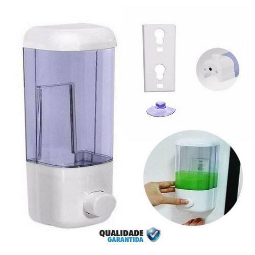 Porta Sabonete Detergente Álcool em Gel Liquido 600ml de Parede