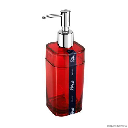 Porta Sabonete Líquido Splash 290ml Vermelho Brinox