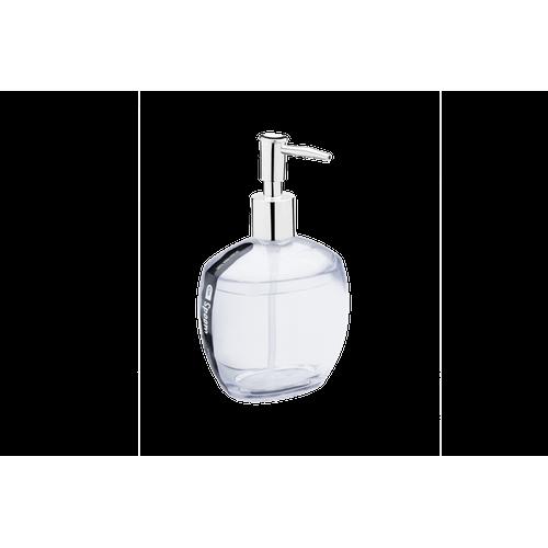 Porta-Sabonete Líquido - Spoom 10,6 X 8,5 X 17,2 Cm 350 Ml Cristal Coza